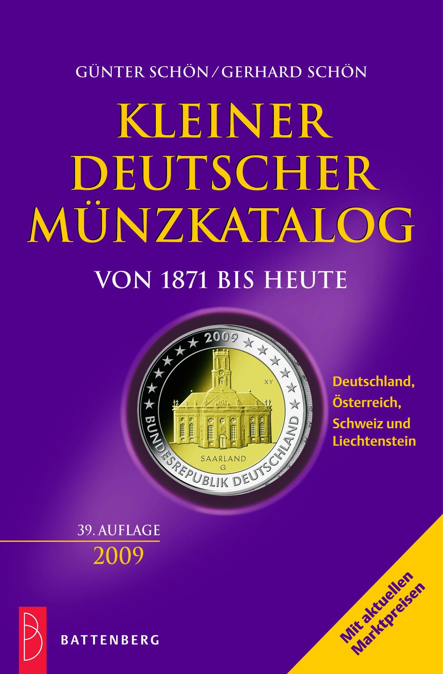 kleiner-deutscher-mnzkatalog-von-1871-bis-heute-2009-deutschland-sterreich-schweiz-und-liechtenstein