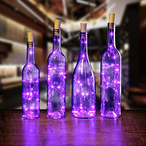 Botella Luz, AGPTek – Botellas de Vino luces 3/6 unidades Botella Cadena de