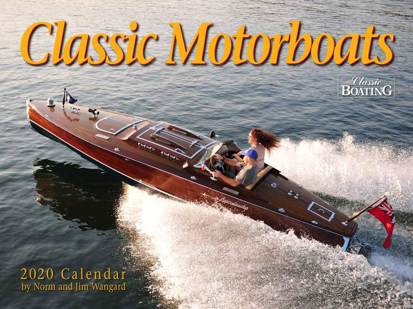 Classic Motorboats 2020 Calendar by Toys+