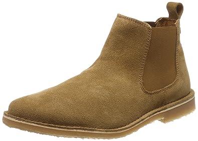 07cde6dc882c93 JACK   JONES Herren Jfwleo Suede Tan Chelsea Boots  Amazon.de ...