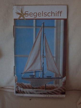 Deko Segelschiff aus Holz - Dänisches Bettenlager: Amazon.de ...