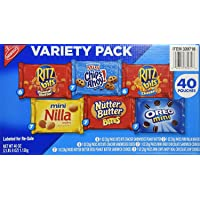Nabisco Variety Pack Cookies, 40 Count (2.5 Lbs ), 40 Ounces