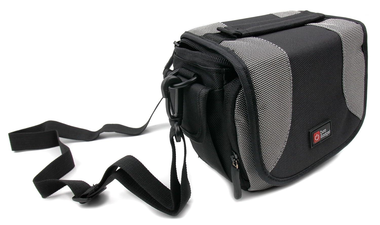 DURAGADGETポータブルCarryケースwithパッド入り内部、ポケットと肩ストラップfor Nikon Monarch 5 8 x 42双眼鏡 B01DMJ0UQY