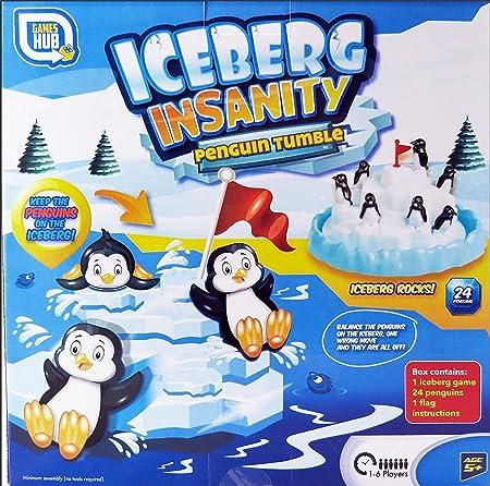 Iceberg Insanity Pingüino De La Caída - 1-6 Jugadores Familia Juego Divertido: Amazon.es: Juguetes y juegos