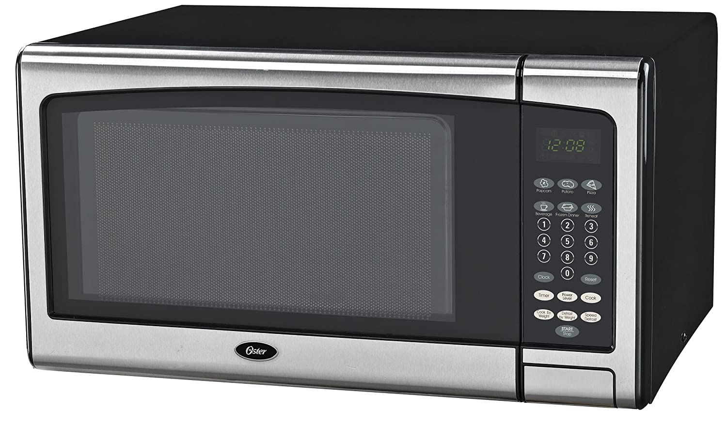 Oster OGSMJ411S2-10 1.1 cu. Ft. Microwave Oven, Stainless Steel Galanz America