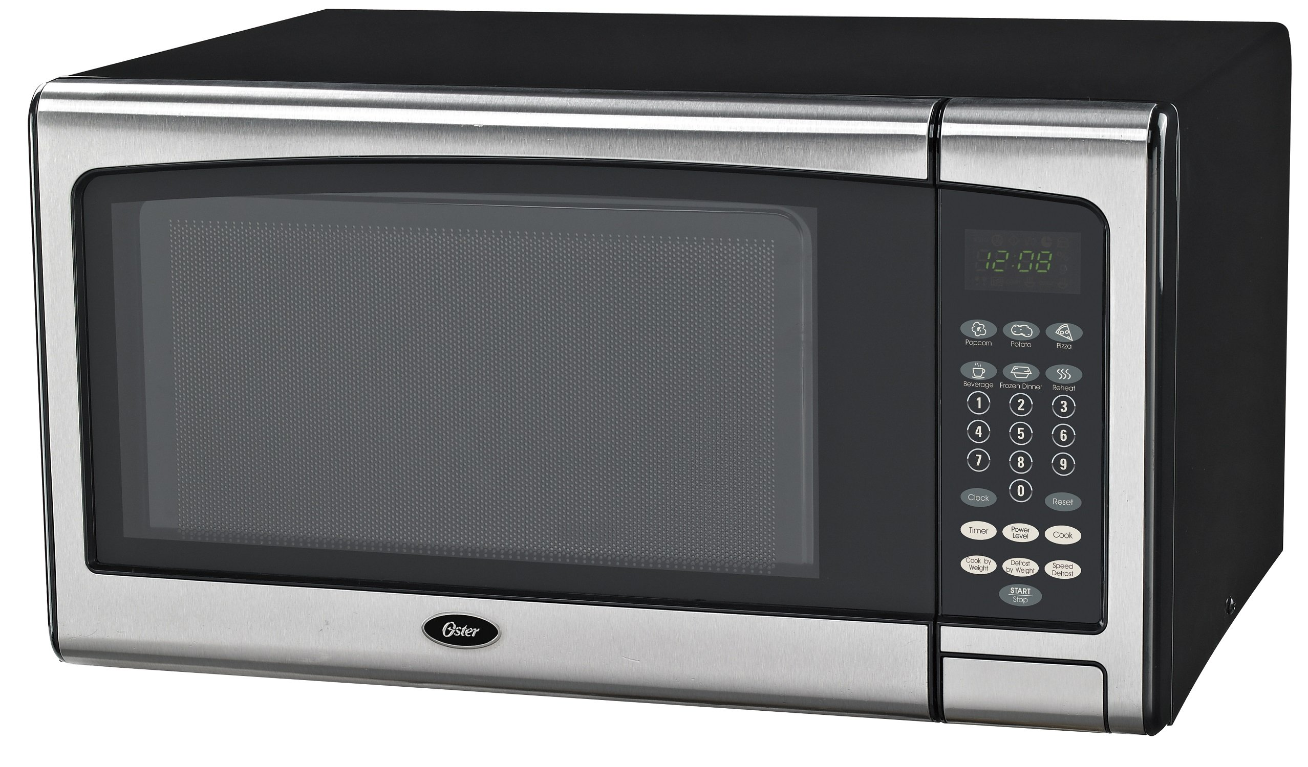 Oster OGSMJ411S2-10 1.1 cu. Ft. Microwave Oven, Stainless Steel by Oster
