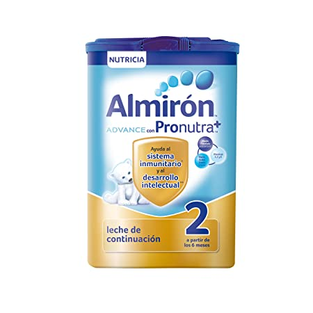 Almirón Advance con Pronutra 2 Leche de continuación en polvo desde los 6 meses 800 g: Amazon.es: Amazon Pantry