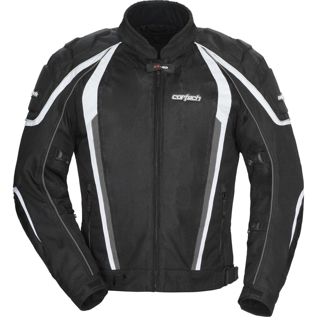 Cortech GX Sport Air 4.0 Adult Mesh Road Race Motorcycle Jacket - Black / Medium