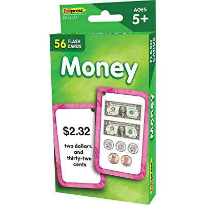 Teacher Created Resources Money Flash Cards, Model: EP62047: Office Products