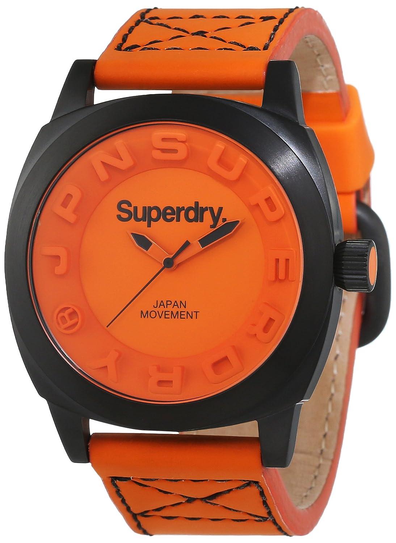 Superdry Herren-Armbanduhr XL Analog Quarz Textil SYG128O
