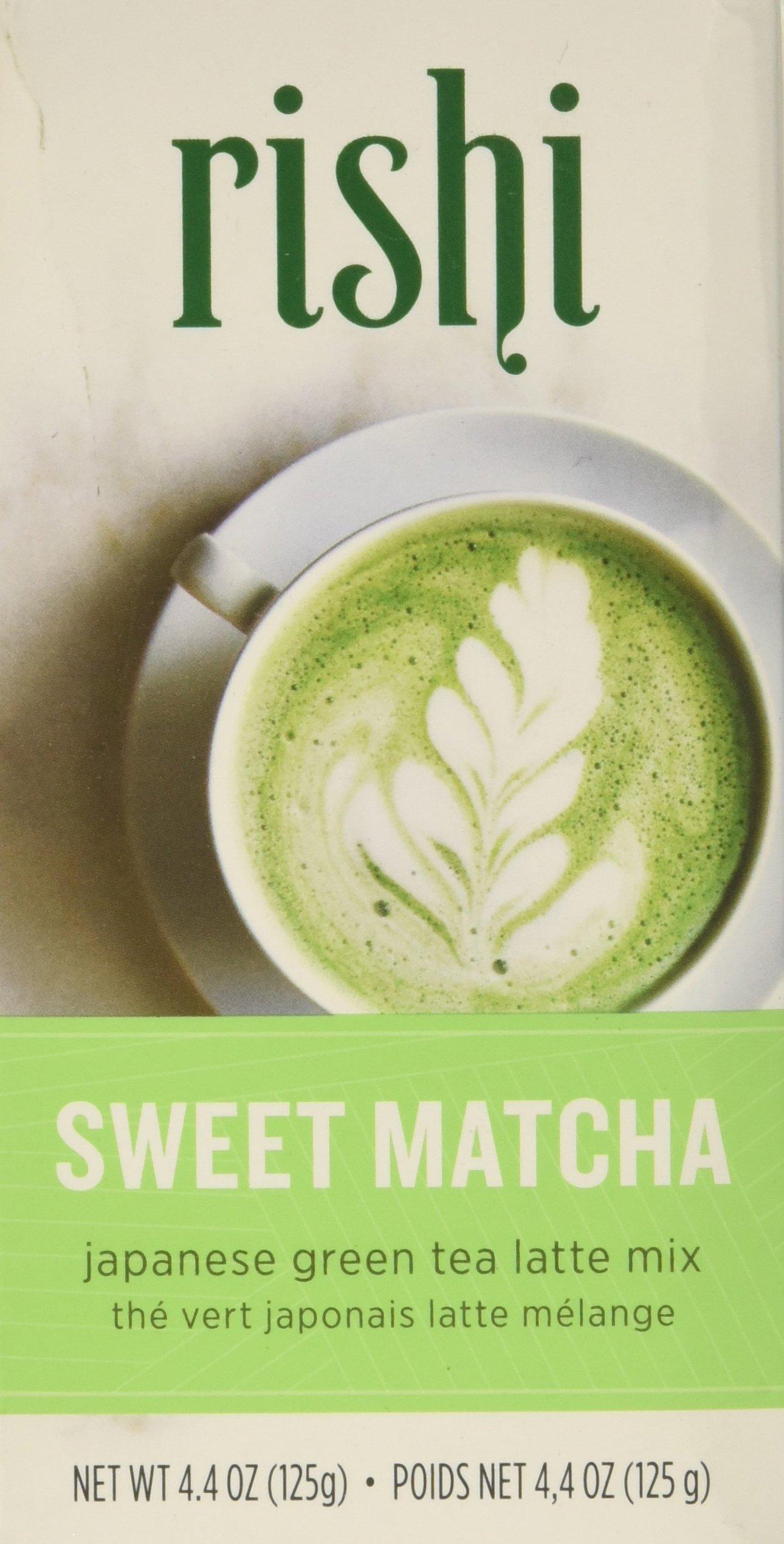 Rishi Sweet Matcha Tea, Japanese Green Tea Powder, 4.4 Oz