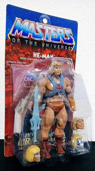 Masters Universo Universe MOTUC Cluc Grayskull Wave 3 Completa