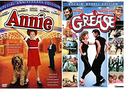 Amazon com: Annie Special Edition Musical DVD Set & Grease