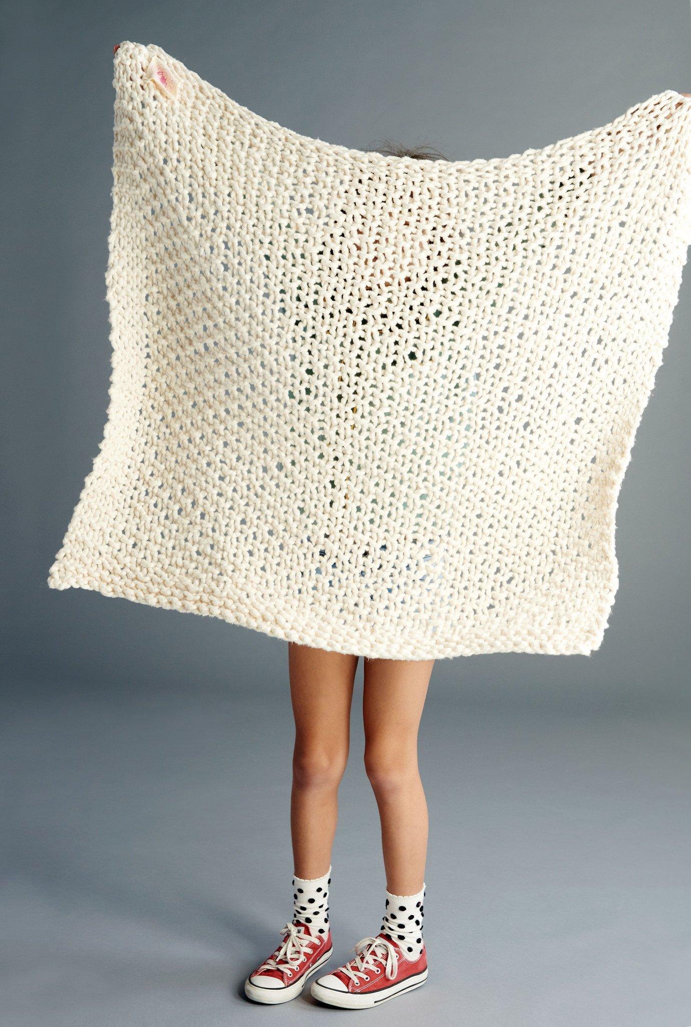 Loopy Mango DIY Kit - Cotton Baby Blanket-Tahitian Pearl by Loopy Mango (Image #3)