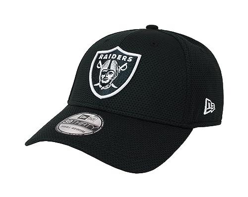 2085e2cb62c New Era 39Thirty Hat Oakland Raiders 2016 NFL Sideline On Field Black Cap  (L