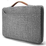 "Tomtoc Custodia Protettiva a 360° per Laptop per 12.9"" ipad Pro | 13.3"" MacBook Air | 13.3"" MacBook Pro A1502 A1425 |13.5"" Surface Book | 13.5"" Surface Laptop, Borsa per Tablet e Portatile da 13 Pollici, Grigio"