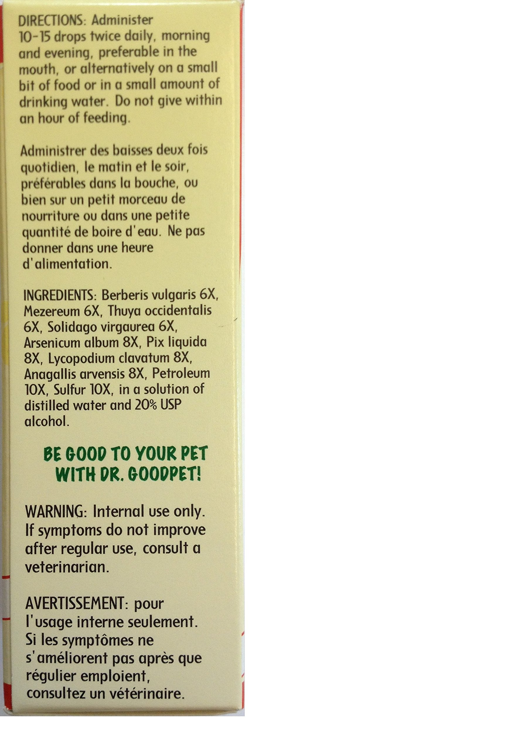 Dr. Goodpet Scratch Free - All Natural Treatment for Skin Problems, Hot Spots & Irritation