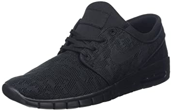 new style ba82f 3f00d Nike Men s Stefan Janoski Max Black Black-anthraciteSneakers - 4 D(M)