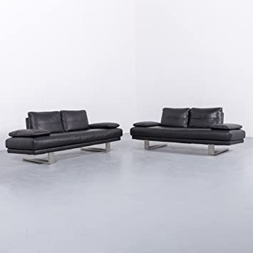 Zweisitzer Couch Perfect Couch Leder Schwarz Beautiful Fotos Cor