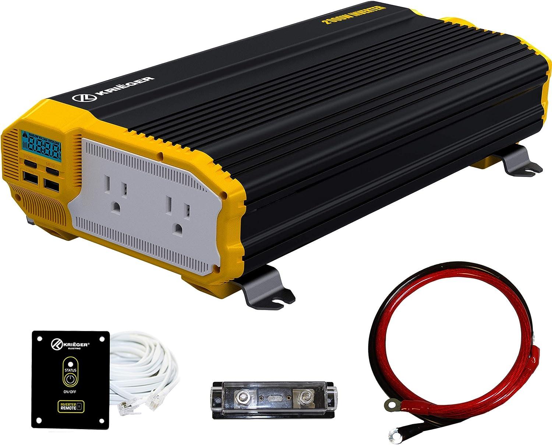 Krieger 2000 Watt Power Inverter