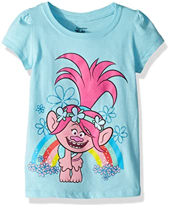 e76ee5d1 Amazon.com: Trolls Girls' Toddler Poppy: Clothing