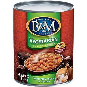 B&M 16 oz. Baked Beans, Vegetarian