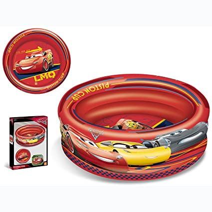 Amazon.com: Disney Mondo Cars Inflatable Three Ring Paddling ...