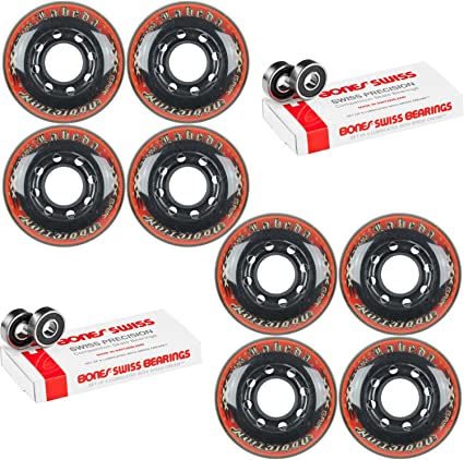 Labeda Addiction Wheels Addiction XXX Grip 72mm Roller Hockey 4-Pack