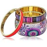 Desigual nbsp;51G55E65068U Redonda Constellatio Trio de bracelet pour femmes en acier inoxydable