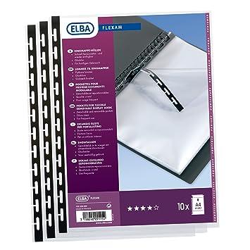 "Elba 100206999 Visión""flexam – Fundas para carpetas libros de visión y anillo,"