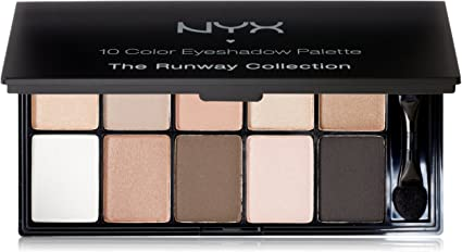 Nyx Cosméticos Runway Collection – Eyeshadow Palette – champán y Caviar: Amazon.es: Belleza