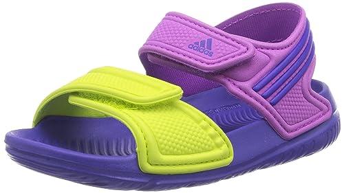 huge selection of 96861 f99f1 adidas Akwah 9, Zapatos de Playa y Piscina para Niños Amazon.es Zapatos y  complementos