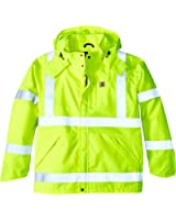 Carhartt Men's Big & Tall High Visibility Class 3 Waterproof Jacket