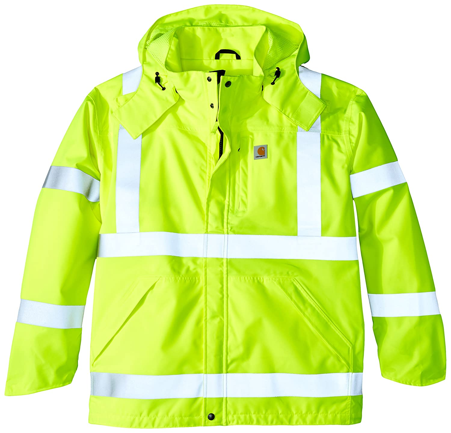 Carhartt Men's Big & Tall High Visibility Class 3 Waterproof Jacket Carhartt Sportswear - Mens 100499
