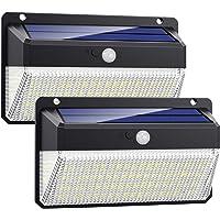 VOOE Luz Solar Exterior 228 LED [Versión Super Brillante 2200mAh] Foco Solar Exterior con Sensor de Movimiento 270°de…