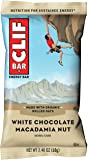 CLIF BAR - Energy Bar - White Chocolate Macadamia - (2.4 Ounce Protein Bar, 12 Count)