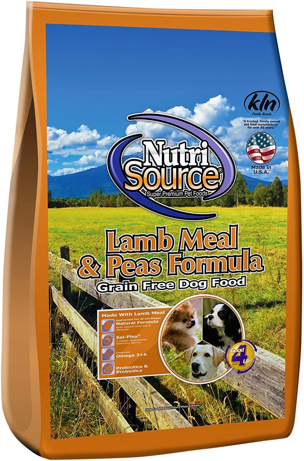 Tuffy'S Pet Food Nutrisource Grain-Free Lamb Meal & Peas Formula Dry Dog Food