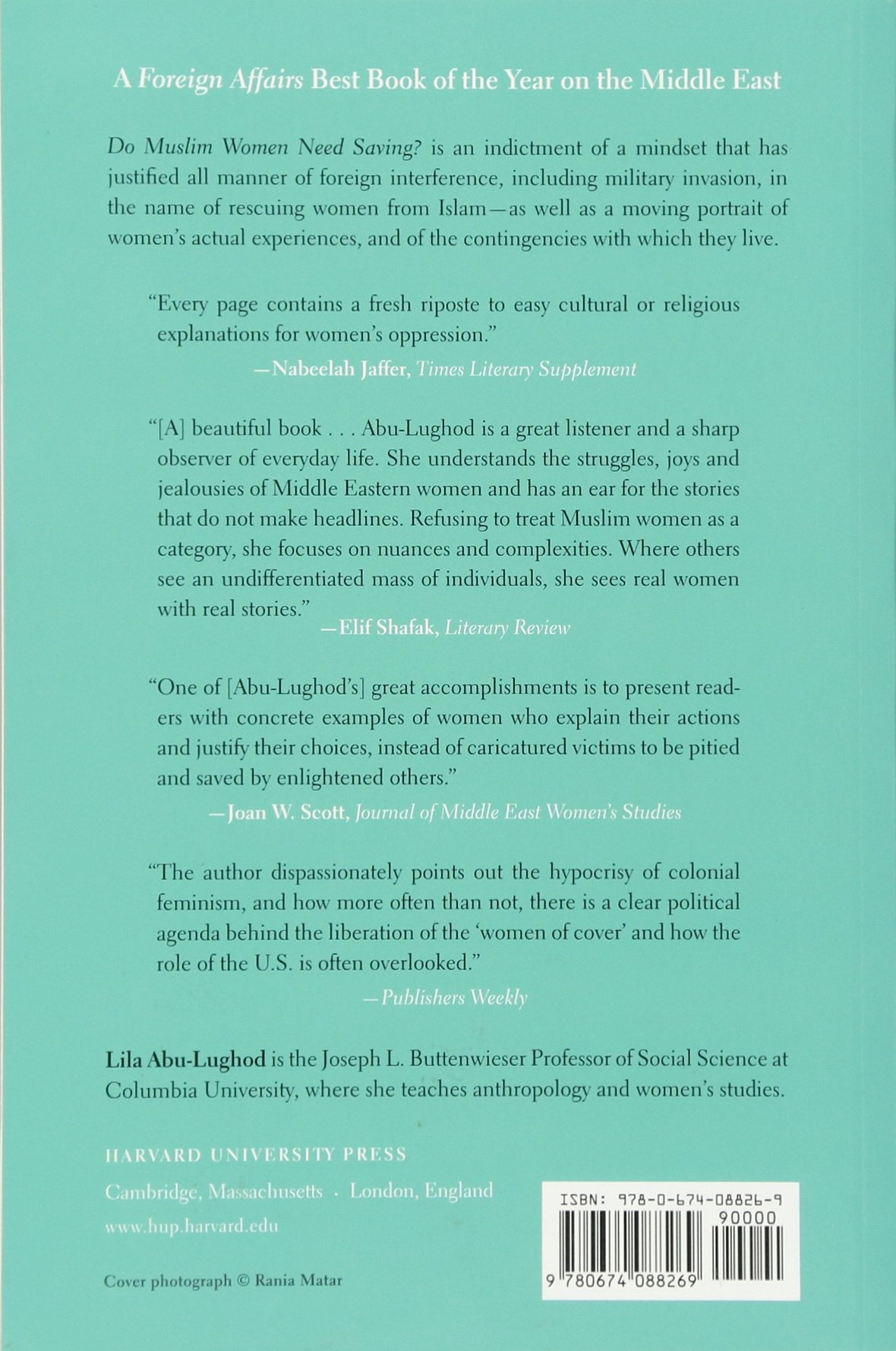 Do Muslim Women Need Saving?: Amazon.es: Lila Abu-Lughod ...