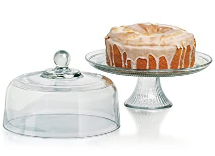 Anchor Hocking Canton Cake Dome  sc 1 st  Amazon.com & Amazon.com | Anchor Hocking Canton Cake Dome: Cake Plates: Cake Stands