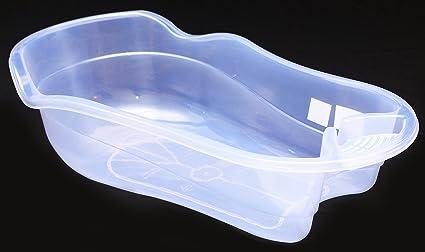 Vasca Da Bagno Per Neonati : Grande baby vasca da bagno per neonati trasparente : amazon.it