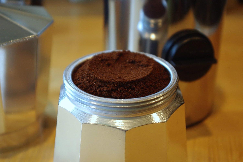 Meliconi Dosificador de café automático, de acero inoxidable
