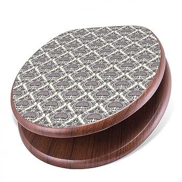 banjado design toilettensitz mit absenkautomatik wc sitz holz klodeckel mit metall scharnieren