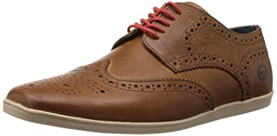 Mens Shore Lace-Up Flats Base London R1sNW