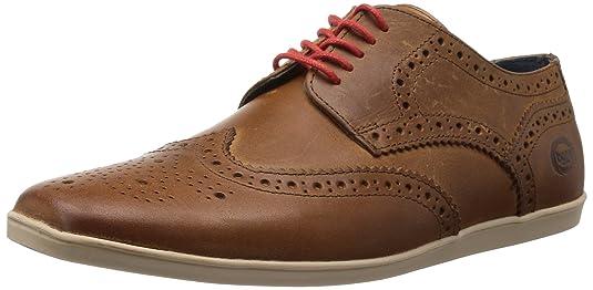 Base London Shore, Chaussures de ville homme - Beige (Tan), 44 EU (10 UK)