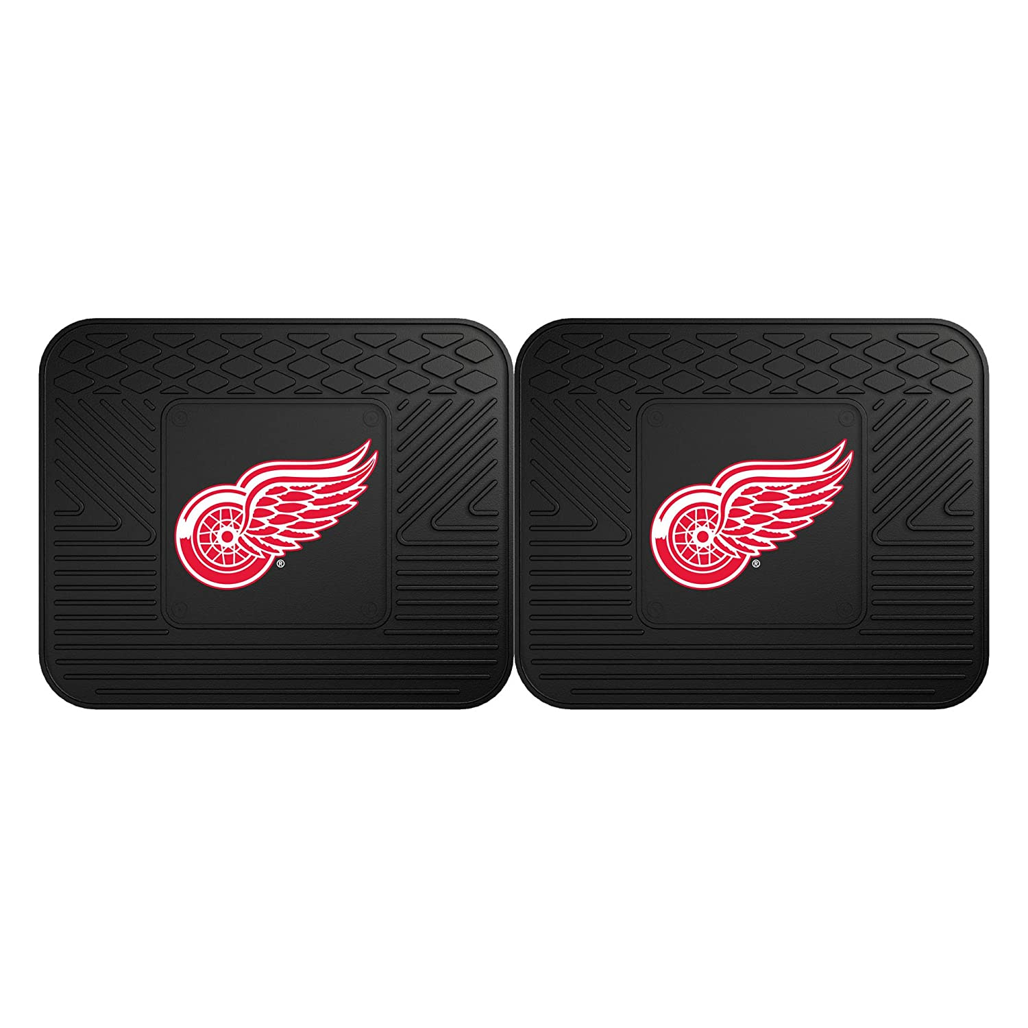 Detroit Red Wings Utility Mat FANMATS 12395 NHL 2 Piece