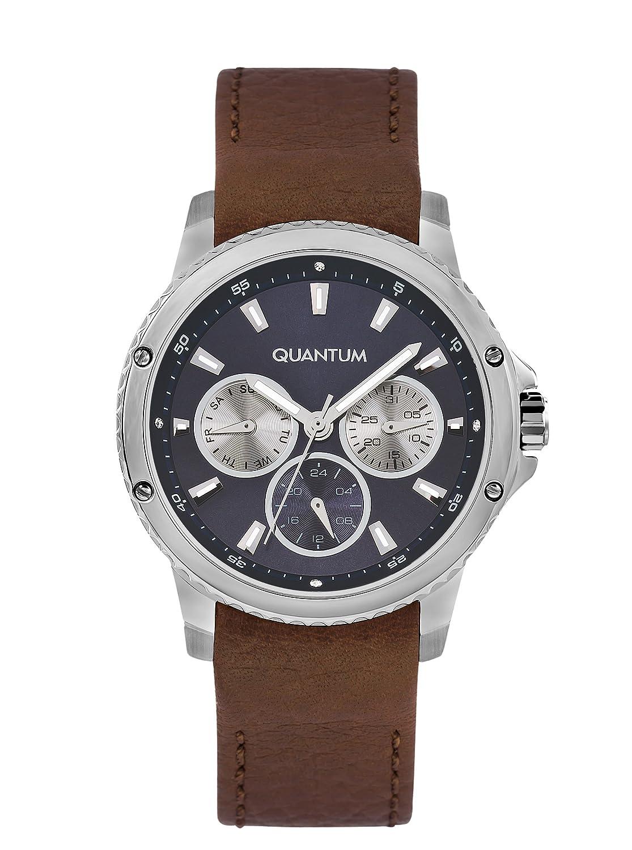 QUANTUM MÄdchen-Armbanduhr Impulse Chronograph Quarz Leder IML464.392