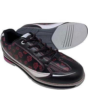 36d586c9a26253 SaVi Bowling Women s Rose Black Red White Bowling Shoes