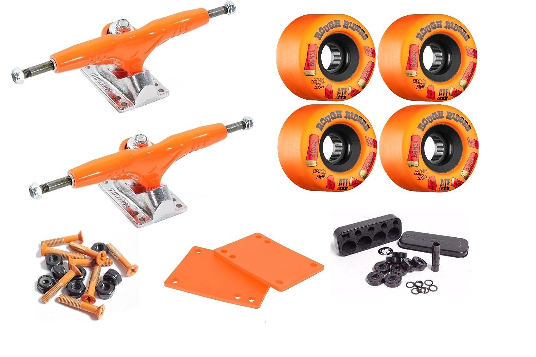 "Cal 7 Hardware Riser Pads Set Gullwing Pro III 9/"" Silver Skate Trucks Pair"