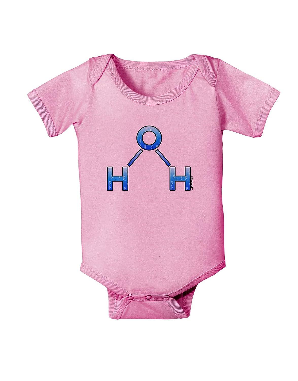 TooLoud Water Molecule Baby Romper Bodysuit