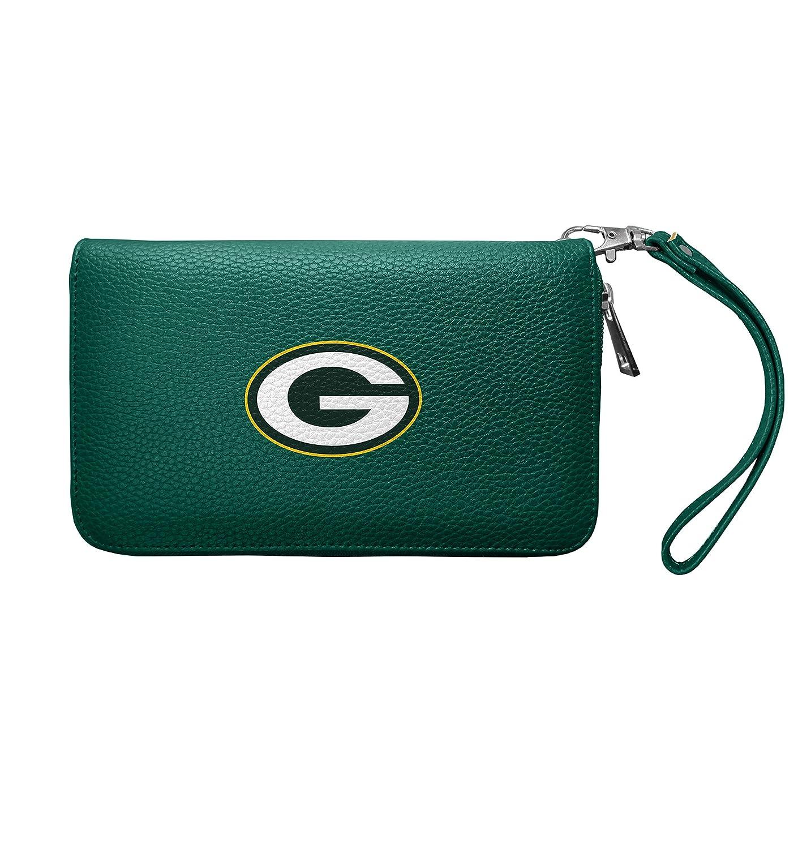 最安値で  NFLグリーンベイパッカーズレディースZip Organizer 1 Pebble財布 Pebble財布、8、8